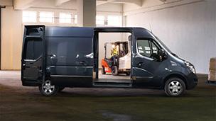 Opel Movano - Designul de exterior al versiunii Panel Van