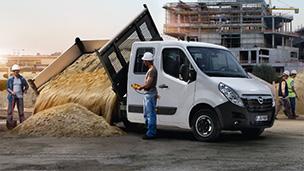 Opel Movano Benne basculante