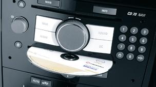 Opel Movano - Navigointijärjestelmän päivityspaketti