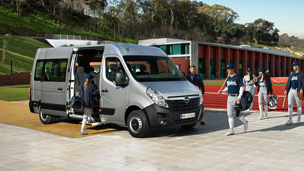 Opel Movano – Εξωτερική όψη Bus