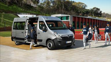 Opel Movano – Busz