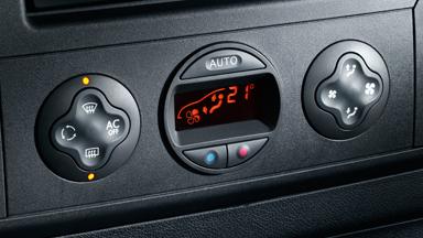 Opel Movano – Elektronikus klímaszabályozás