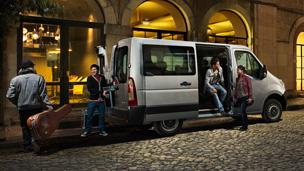 Opel Movano – Combi Ulkopuolen muotoilu