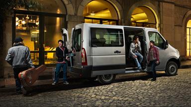 Opel Movano - Yhdistelmäauto