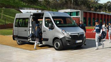 Opel Movano – Elektromos tolóajtó