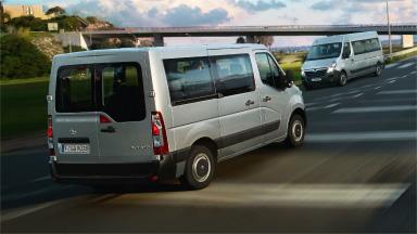 Opel Movano – Színezett üveg