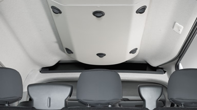 Opel Movano – Hátsó légkondicionálás a Kombi modellhez