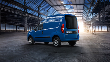 New Opel Combo - Rear Suspension