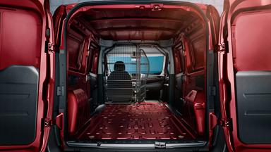 Opel Combo – Напълно сгъваема седалка