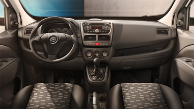 New Opel Combovan - Interior Design