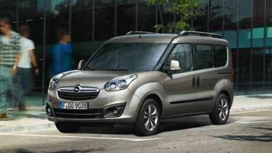 New Opel Combo Tour - Exterior Deisgn