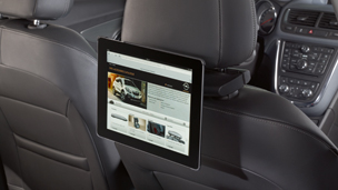 Opel Combo Tour - Cradle/Docking station with TOMTOM Navigation device