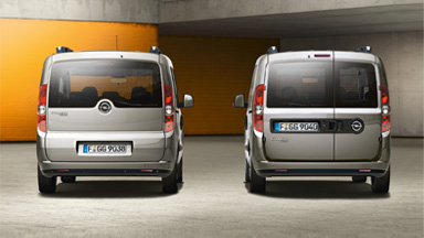 New Opel Combo Tour - Standard Equipment
