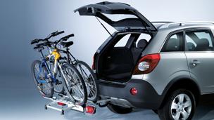Opel Antara - Systemy transportu bagażu