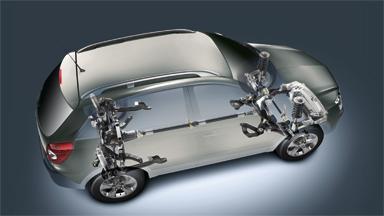 Opel Antara - Napęd na 4 koła (AWD)