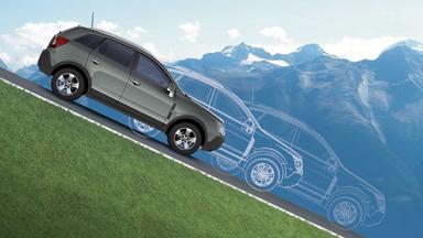 Opel Antara - Berg-Abfahr-Assistent