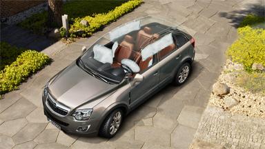 Opel Antara - Bezpieczeństwo
