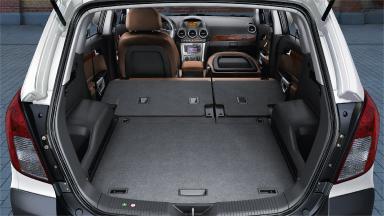 Opel Antara - Składane oparcie fotela pasażera