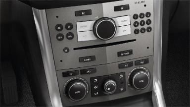 Opel Antara - Dwustrefowa klimatyzacja sterowana elektronicznie (ECC)
