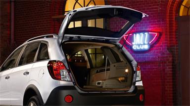 Opel Antara - System FlexOrganizer®