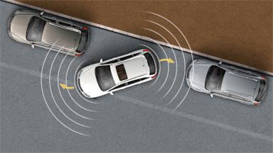 Opel Antara - Czujniki parkowania