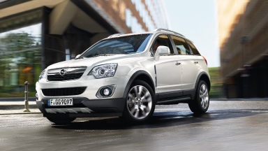 Opel Antara - Stylistyka nadwozia