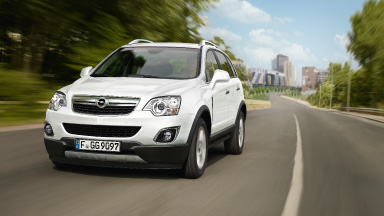 Opel Antara - Gama mocnych silników