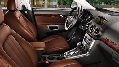 Opel Antara - Stylistyka wnętrza