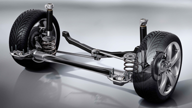 Opel Astra Sports Tourer Affaires détail Suspension arrière avec parallélogramme de Watt