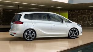 Opel Zafira Tourer - Personalizacja i pakiety OPC