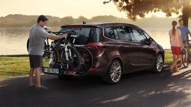 Opel Zafira Tourer - Zintegrowany bagażnik rowerowy FlexFix®