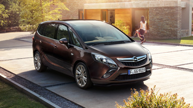 New Opel Zafira Tourer - Exterior Design