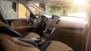 Opel Zafira Tourer - Stylistyka wnętrza