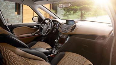 Nouveau Opel Zafira Tourer - Design intérieur