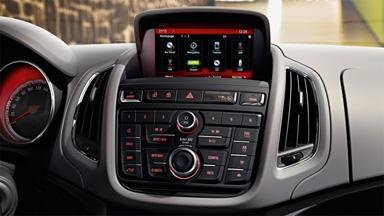Opel Zafira Tourer - Radio internetowe