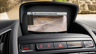 New Opel Zafira Tourer - Rear View Camera