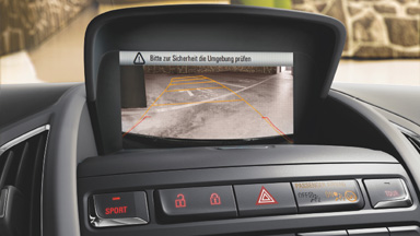 Opel Zafira Tourer - Kamera cofania