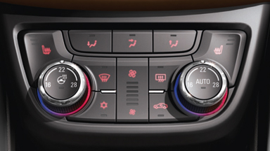 New Opel Zafira Tourer - Heated Steering Wheel