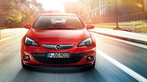Opel Astra GTC - Великолепная подвеска