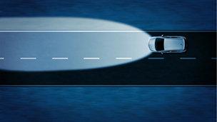 Opel Astra GTC - Функция автоматического переключения дальнего света для галогенных фар (HBA)