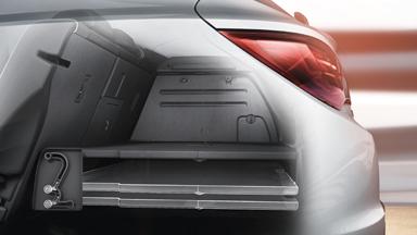 Opel Astra GTC - bagāžas nodalījums ar Flex Floor sistēmu