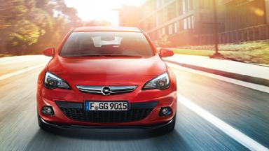 Opel GTC rouge extérieur Design