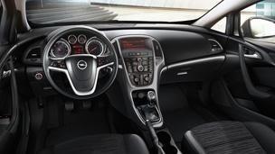 Opel Astra GTC - drive! Внатрешен изглед