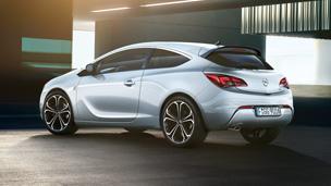 Opel Astra GTC - dizains un OPC Line aprīkojums