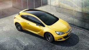 Opel Astra GTC - Едиција црн покрив и Едиција карбон покрив – посебен допир