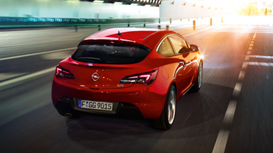 Opel Astra GTC - Шасија