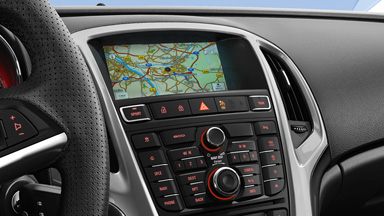 Opel Astra GTC - Navi 950 IntelliLink