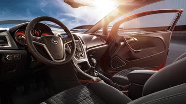 Opel Astra GTC - Stylistyka wnętrza