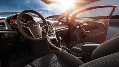 New Opel Astra GTC - Interior Design