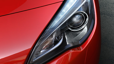 Opel Astra GTC détail Adaptive Forward Lighting